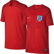 Nike Youth 2018 FIFA World Cup England Breathe Stadium Away Replica Jersey
