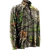 NOMAD Men's NWTF Quarter Zip Long Sleeve Shirt