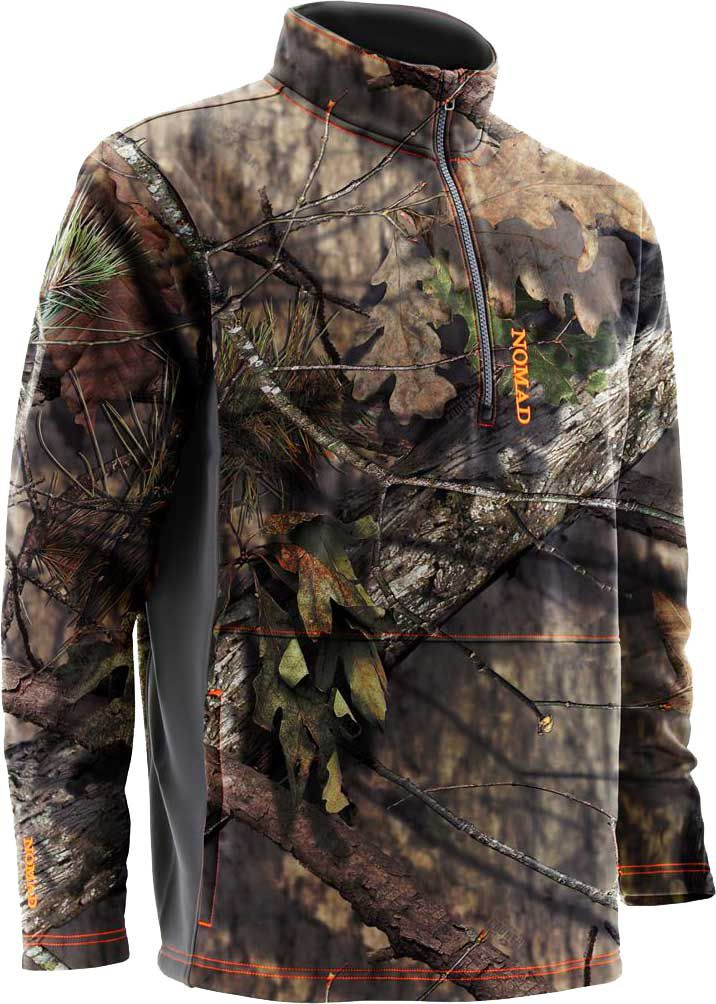 Nomad Men's Southbender 1/4 Zip Hunting Jacket, Size: Medium, Mossy Oak Brk-Up Country thumbnail