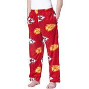 Concepts Sport Men's Kansas City Chiefs Grandstand Fleece Pajama Pants