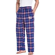 Concepts Sport Men's New York Giants Huddle Flannel Pants