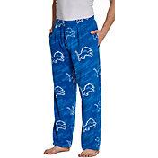 Concepts Sport Men's Detroit Lions Grandstand Fleece Pajama Pants