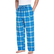 Concepts Sport Men's Detroit Lions Huddle Flannel Pants