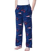 Concepts Sport Men's New England Patriots Grandstand Fleece Pajama Pants