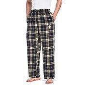 Concepts Sport Men's New Orleans Saints Huddle Flannel Pants
