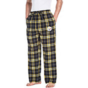 Concepts Sport Men's Pittsburgh Steelers Huddle Flannel Pants