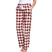 Concepts Sport Women's Chicago Bears Forge Fleece Flannel Pants