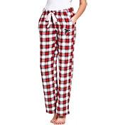 Concepts Sport Women's Atlanta Falcons Forge Fleece Flannel Pants