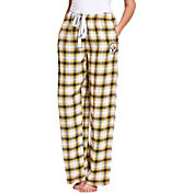 Concepts Sport Women's Pittsburgh Steelers Forge Fleece Flannel Pants