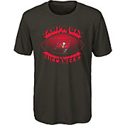 NFL Team Apparel Youth Tampa Bay Buccaneers Satellite Pewter T-Shirt