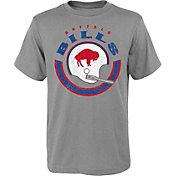 NFL Team Apparel Youth Buffalo Bills Cannon Grey T-Shirt