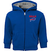 NFL Team Apparel Toddler Buffalo Bills Red Zone Full-Zip Hoodie