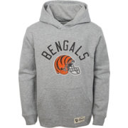 NFL Team Apparel Youth Cincinnati Bengals Icon Pullover Hoodie