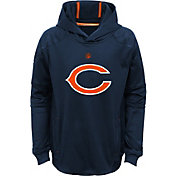 NFL Team Apparel Youth Chicago Bears Mach Pullover Hoodie