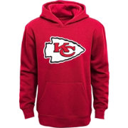 NFL Team Apparel Youth Kansas City Chiefs Logo Red Hoodie