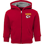 NFL Team Apparel Toddler Kansas City Chiefs Red Zone Full-Zip Hoodie