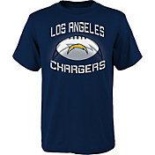 NFL Team Apparel Youth Los Angeles Chargers L.A. Infinity Navy T-Shirt