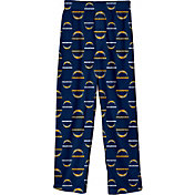 NFL Team Apparel Youth Los Angeles Chargers Printed Navy Pants
