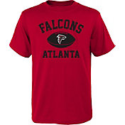 NFL Team Apparel Youth Atlanta Falcons Standard Issue Red T-Shirt