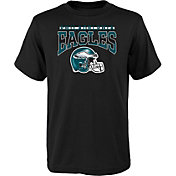 NFL Team Apparel Youth Philadelphia Eagles 'Go Get Em' Black T-Shirt