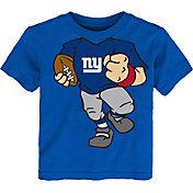 NFL Team Apparel Toddler New York Giants Dream Football T-Shirt