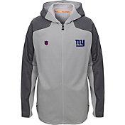NFL Team Apparel Youth New York Giants Delta Full-Zip Jacket