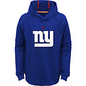 NFL Team Apparel Youth New York Giants Mach Pullover Hoodie