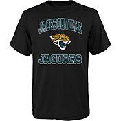 '47 Youth Jacksonville Jaguars Gridiron Hero Black T-Shirt
