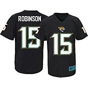 NFL Team Apparel Youth Jacksonville Jaguars Allen Robinson #15 Black Performance T-Shirt
