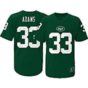 NFL Team Apparel Youth New York Jets Jamal Adams #33 Performance Green T-Shirt
