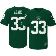 NFL Team Apparel Youth New York Jets Jamal Adams #33 Performance Green T-Shirt