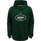 NFL Team Apparel Youth New York Jets Mach Pullover Hoodie