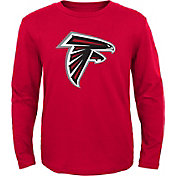 NFL Team Apparel Youth Atlanta Falcons Red Long Sleeve Shirt