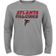 NFL Team Apparel Youth NFC Champions Atlanta Falcons Leveled Up Long Sleeve Shirt
