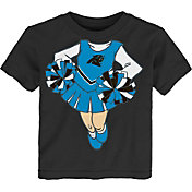 NFL Team Apparel Toddler Carolina Panthers Dream Cheer T-Shirt