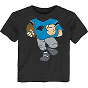 NFL Team Apparel Toddler Carolina Panthers Dream Football T-Shirt