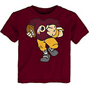 NFL Team Apparel Toddler Washington Redskins Dream Football T-Shirt