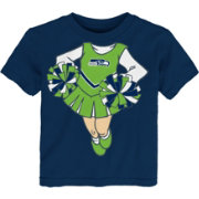NFL Team Apparel Toddler Seattle Seahawks Dream Cheer T-Shirt