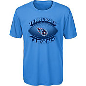NFL Team Apparel Youth Tennessee Titans Satellite Blue T-Shirt