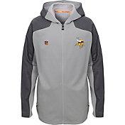 NFL Team Apparel Youth Minnesota Vikings Delta Full-Zip Jacket