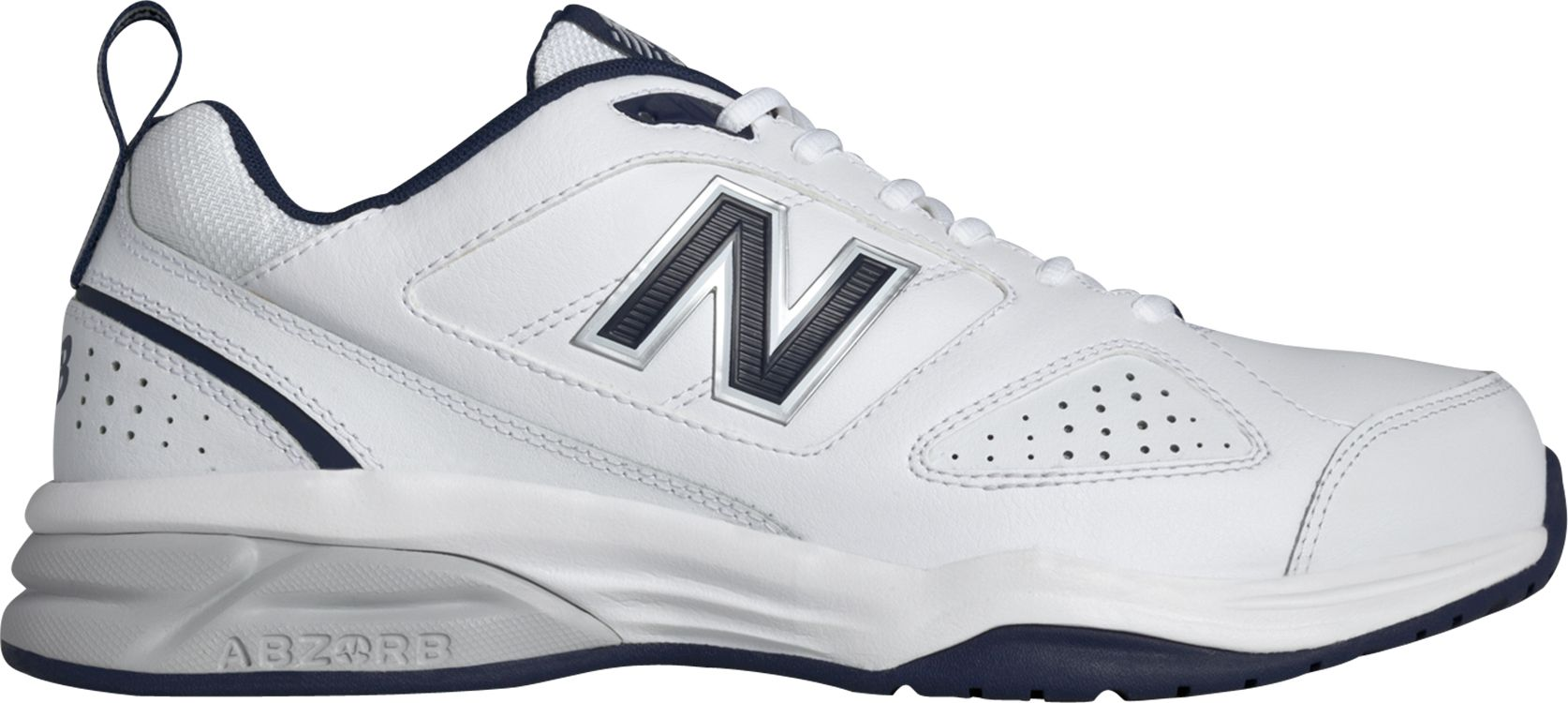 Men's New Balance 623V3 4E Training Shoes White/Navy R67x5024