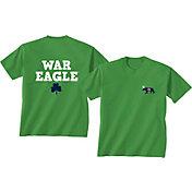 New World Graphics Men's Auburn Tigers Green St. Patrick's Day T-Shirt