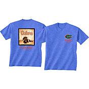 New World Graphics Men's Florida Gators Blue Good Boy T-Shirt