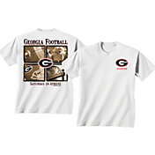New World Graphics Men's Georgia Bulldogs Windows White T-Shirt