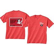 New World Graphics Women's Georgia Bulldogs Red Look Good T-Shirt