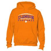 New World Graphics Youth Clemson Tigers Orange Hoodie