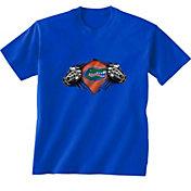 New World Graphics Youth Florida Gators Blue Super T-Shirt