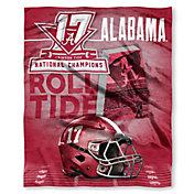 Northwest 2017 National Champions Alabama Crimson Tide Silk Touch Throw