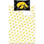 Northwest Iowa Hawkeyes Twin Sheet Set