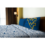 Northwest West Virginia Mountaineers Anthem Twin Sheet Set